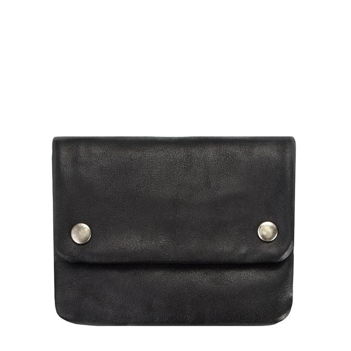 Status Anxiety // Norma Wallet- Black
