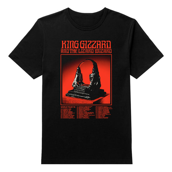 2019 World Tour T-shirt BLACK