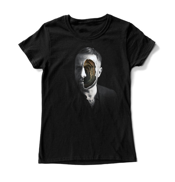 Kind Dude - Face - Black WOMEN T-shirt