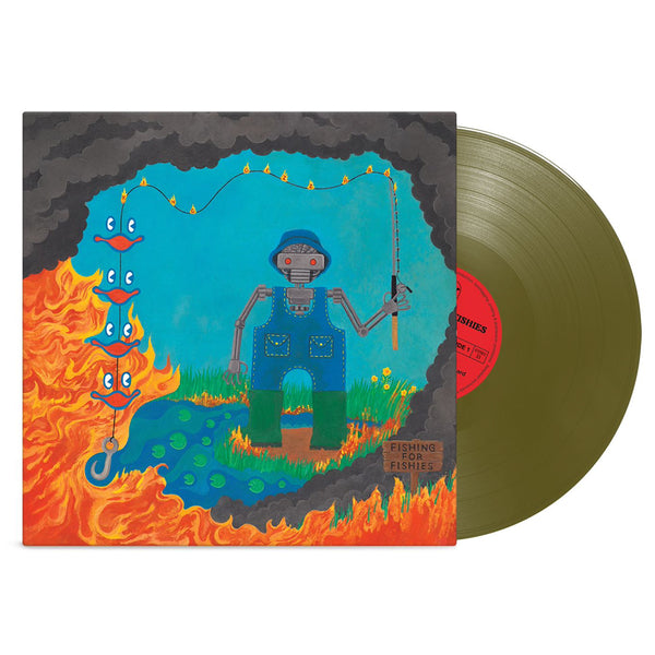 King Gizzard & The Lizard Wizard - Fishing For Fishies 'Landfill Edition' Colored Vinyl