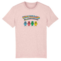 King Gizzard & The Lizard Wizard - Fish family - Cream heather pink T-shirt