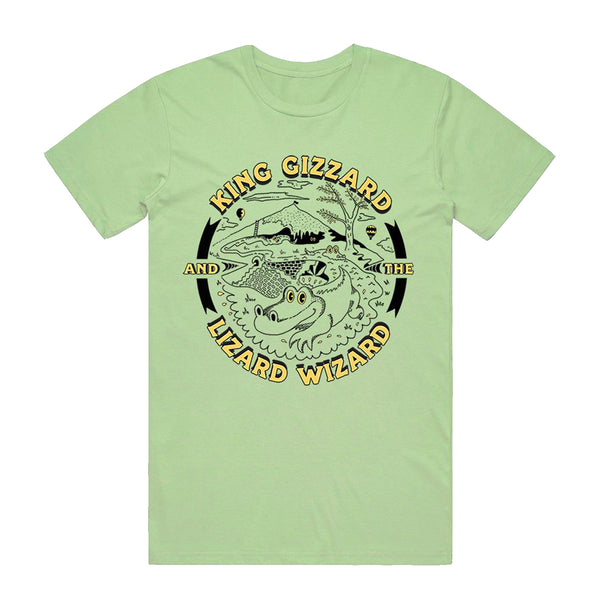King Gizzard & The Lizard Wizard - Gators vintage - T-shirt
