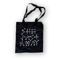 She Past Away - Nails - Tote Bag