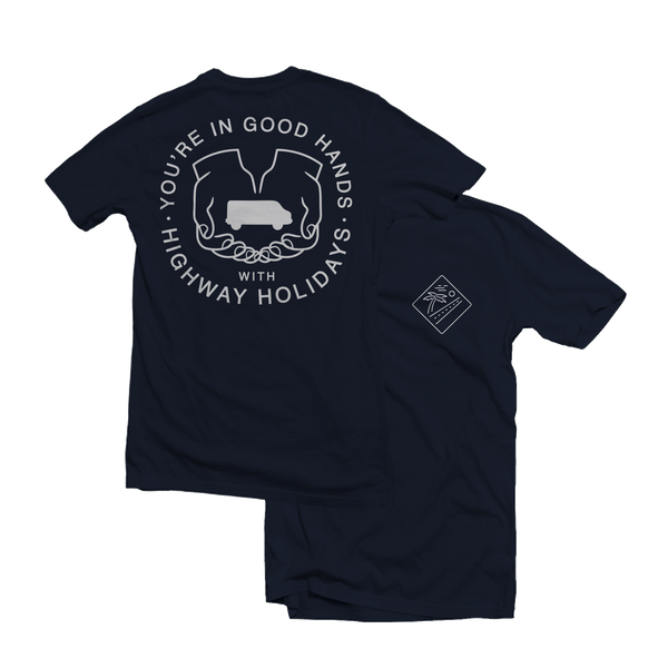Highway Holidays - In Good Hands T-shirt