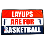 Layups Are For Basketball T-Shirt+Towel Bundle