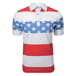 Justice Stripes Polo