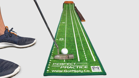 Perfect Putting Mat™ - Standard Edition (Lefty Version)