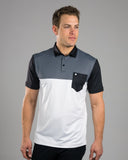 Pocket Stripes Polo Black