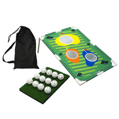 Golf Cornhole Game - Backyard Golf Cornhole Chipping Game