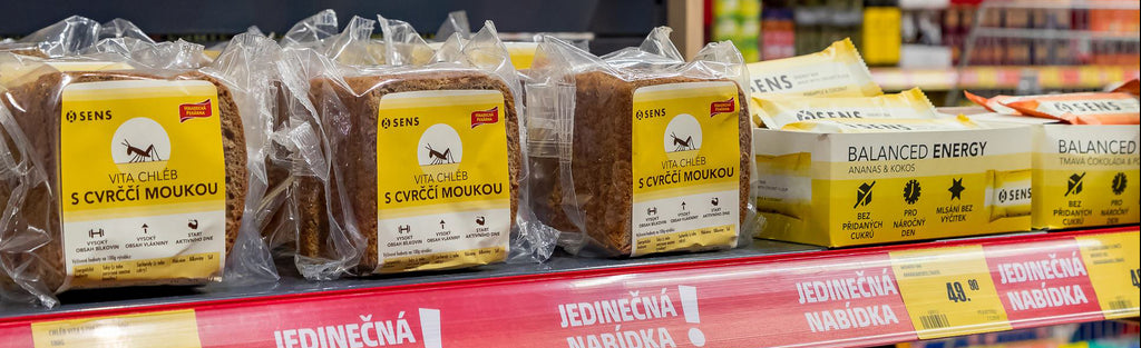 Fulfilling 400 Stores – Insects Enter Europe's Supermarkets