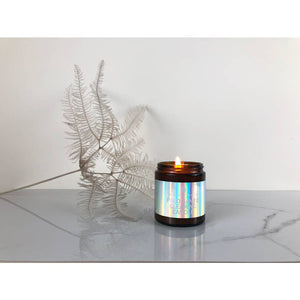 palo santo clearing candle