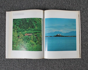 Alaska photogrpahy book showing beautiful photography of its landscape and people