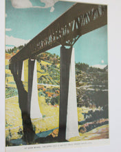 Load image into Gallery viewer, Pit River Bridge vintage print