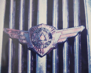 antique pickup grill photo