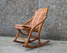 Load image into Gallery viewer, folding rocking chair