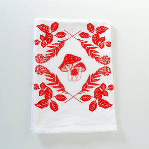 forest growth flour sack towel