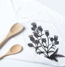 Load image into Gallery viewer, thistle flour sack towel