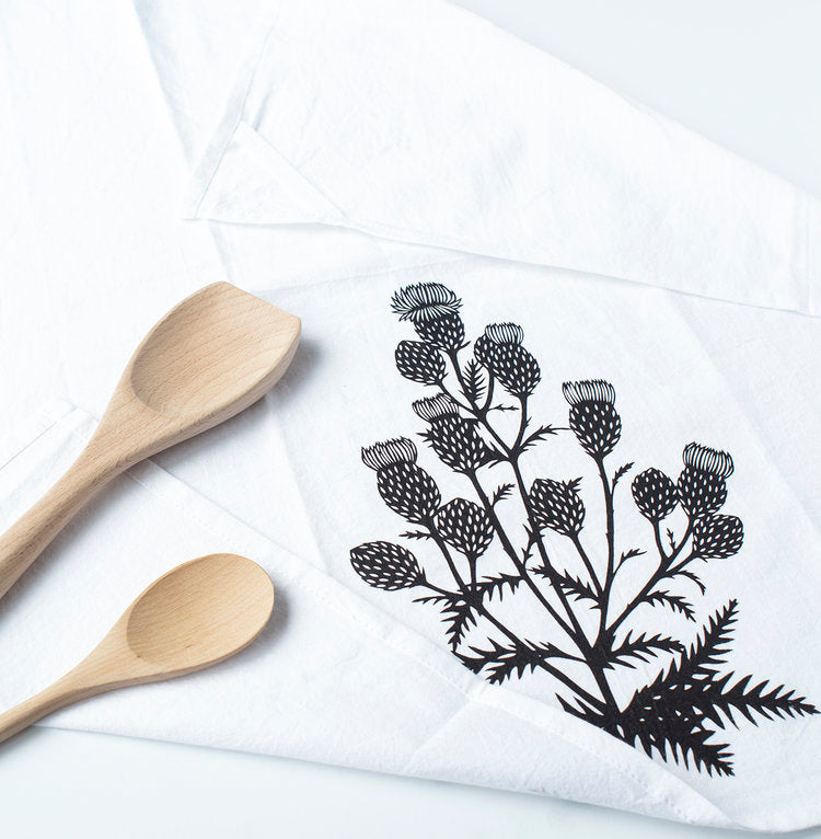 thistle flour sack towel