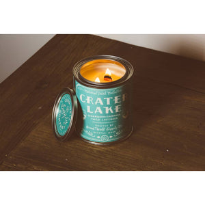 Crater Lake candle