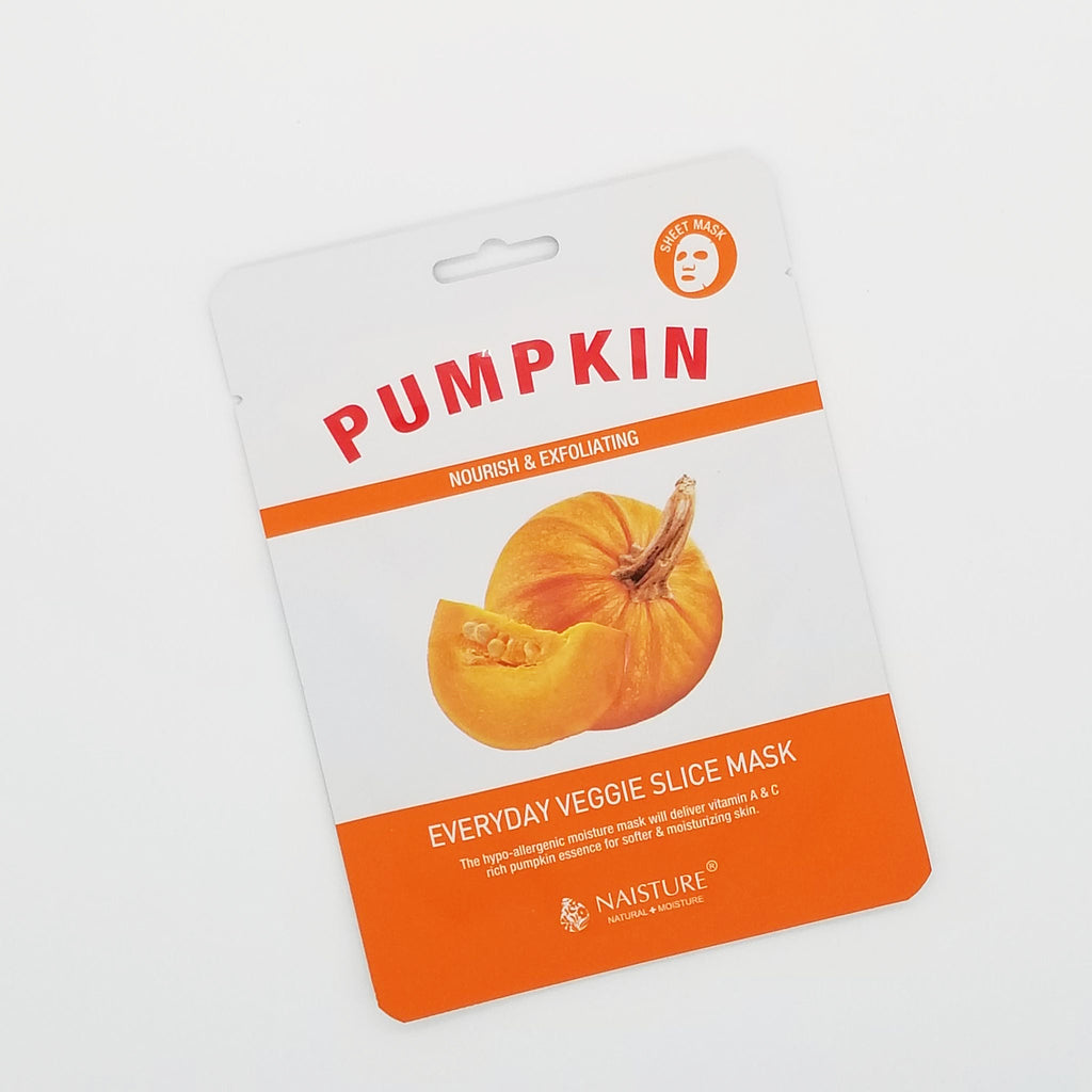 Pumpkin Sheet Mask