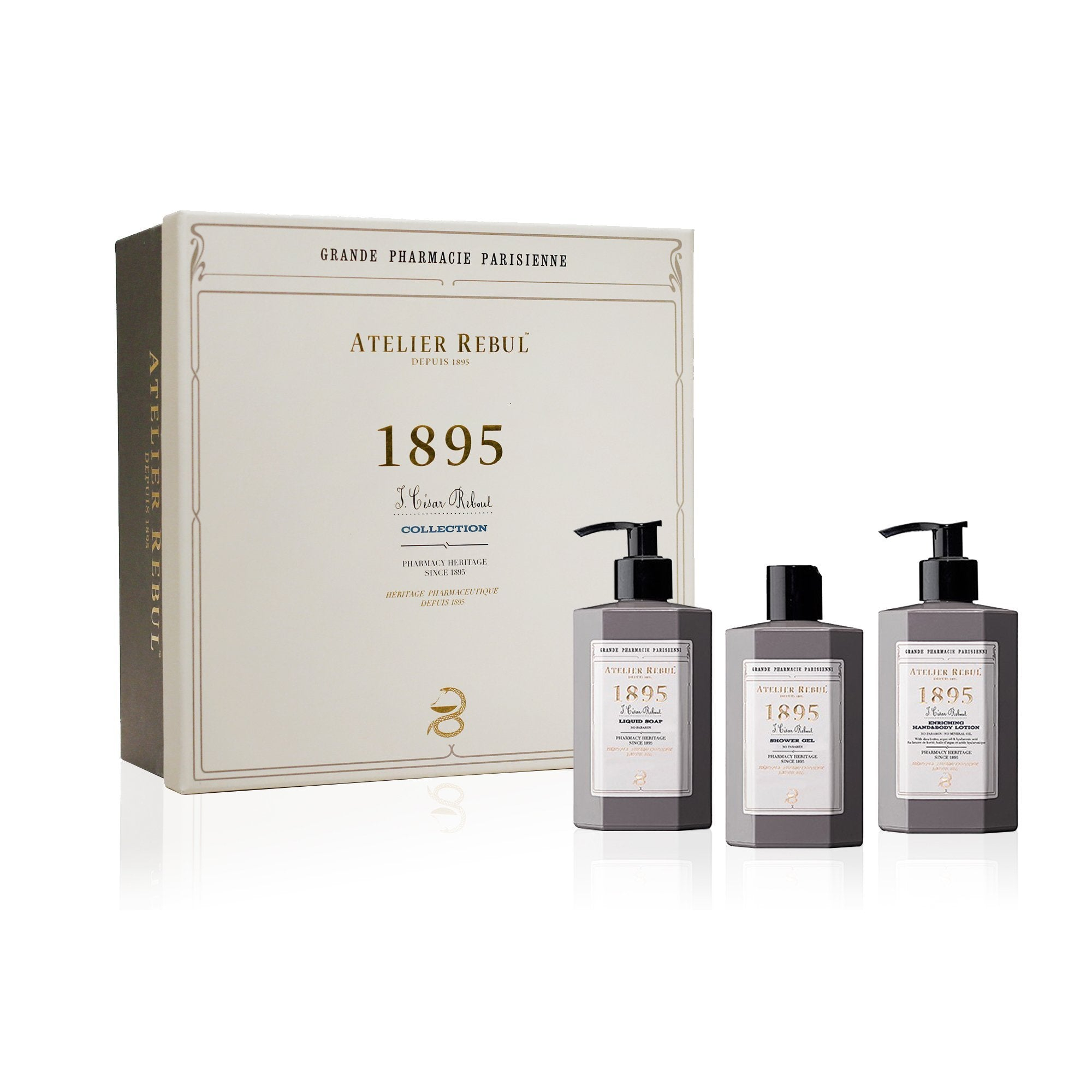 1895 Giftset with Liquid Soap, Shower Gel and Hand & Body Lotion