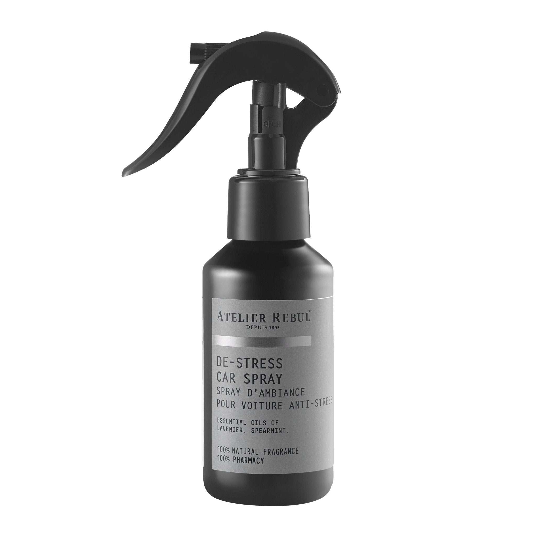 De-Stress Car Spray 100ml - Atelier Rebul