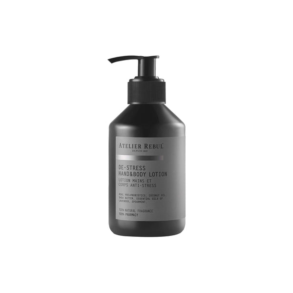 De-Stress Hand & Body Lotion 250ml | Atelier Rebul Webshop