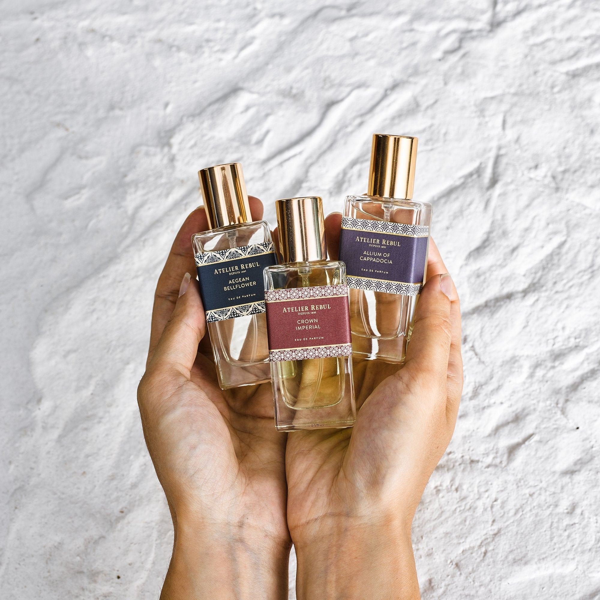 Endemic Flowers Eau de Parfum Trio Set