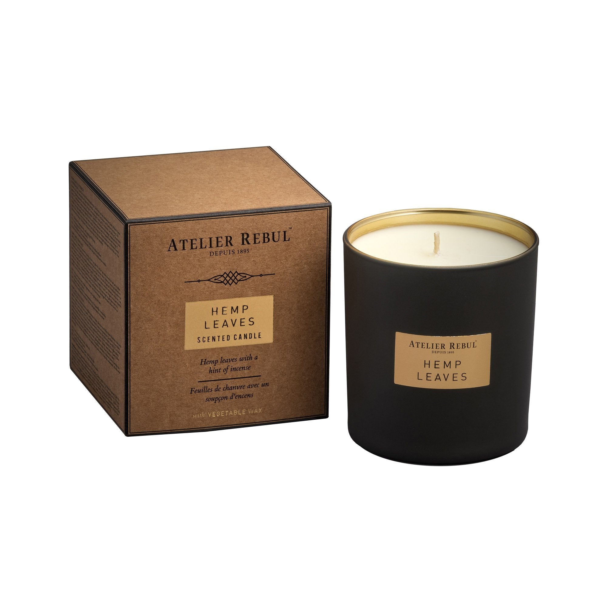 Hemp Leaves Scented Candle 210g