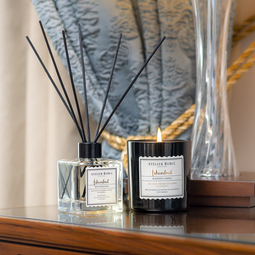 Istanbul Reed Diffuser 120ml - Atelier Rebul