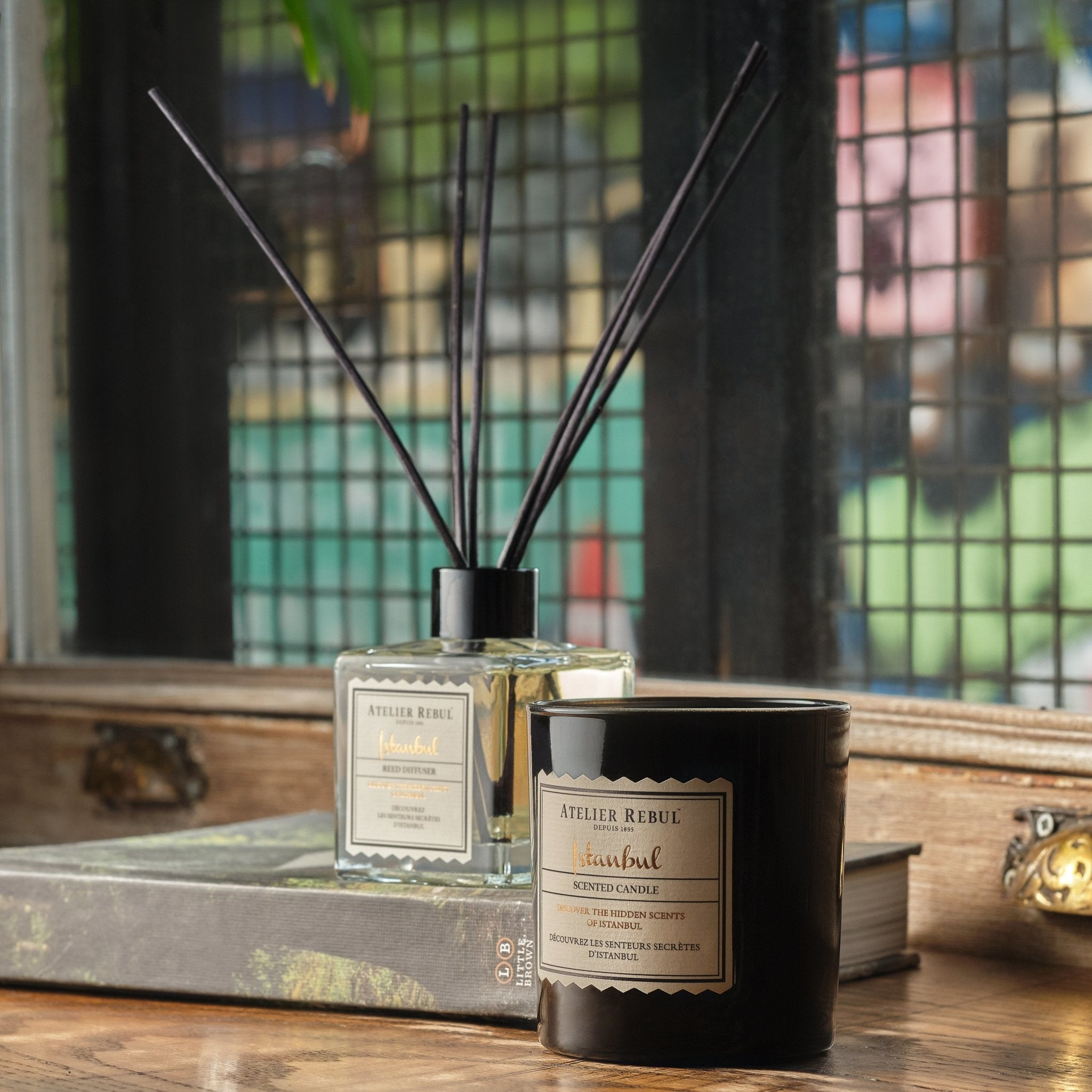Istanbul Scented Candle 235g - Atelier Rebul
