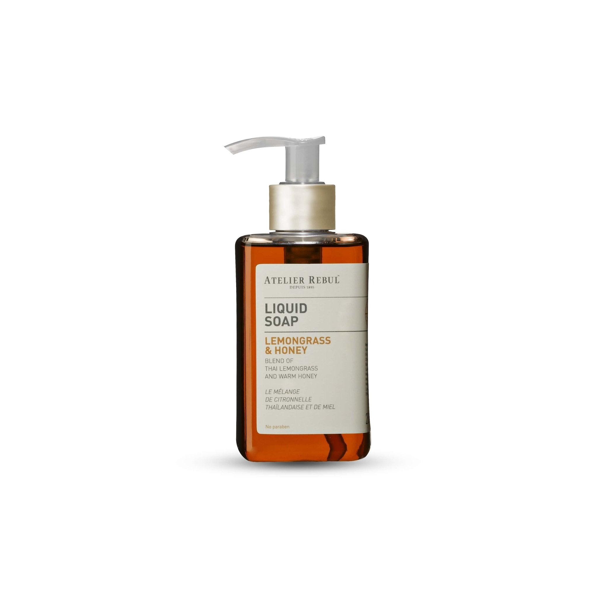 Lemongrass & Honey Liquid Soap 250ml