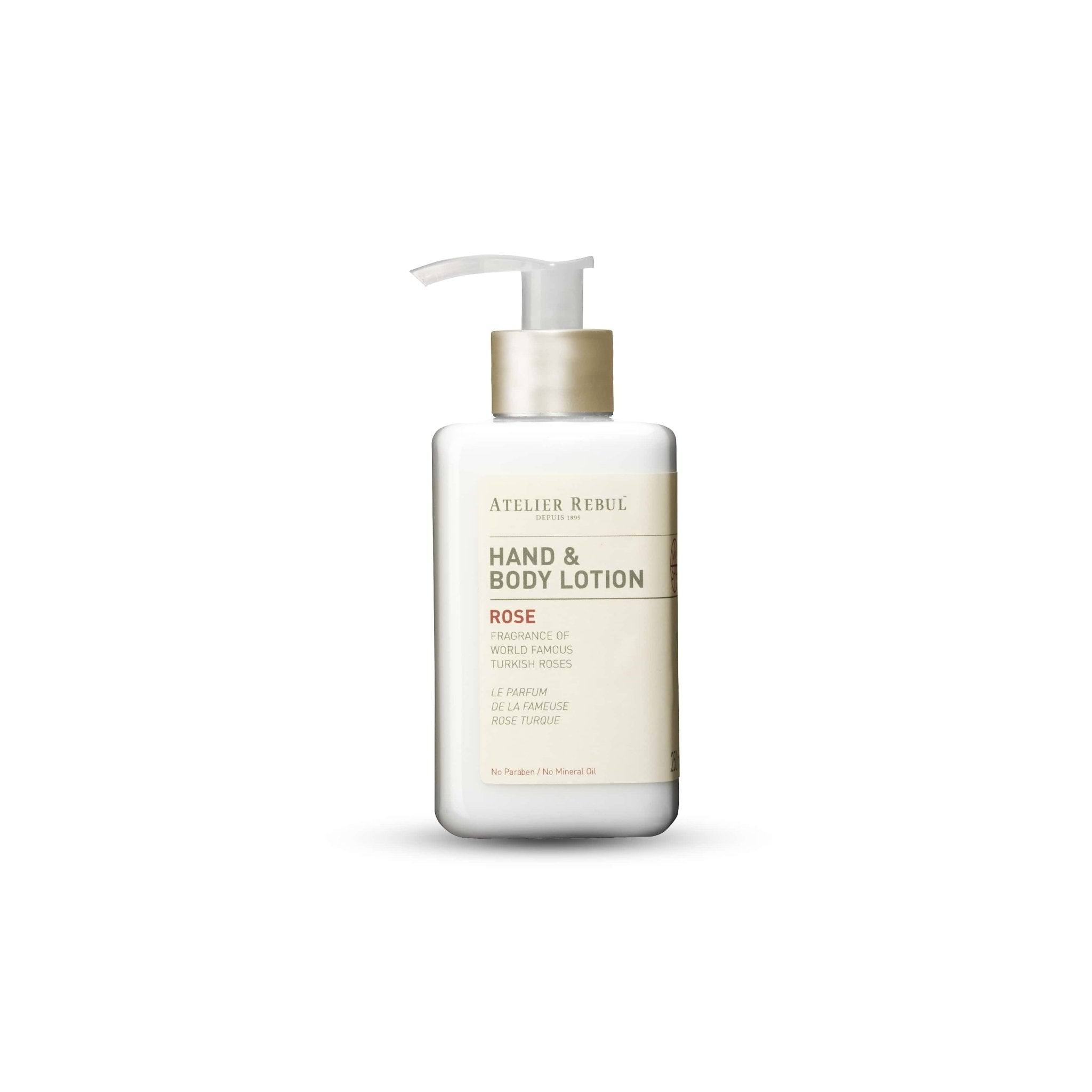 Rose Hand & Body Lotion 250ml - Atelier Rebul