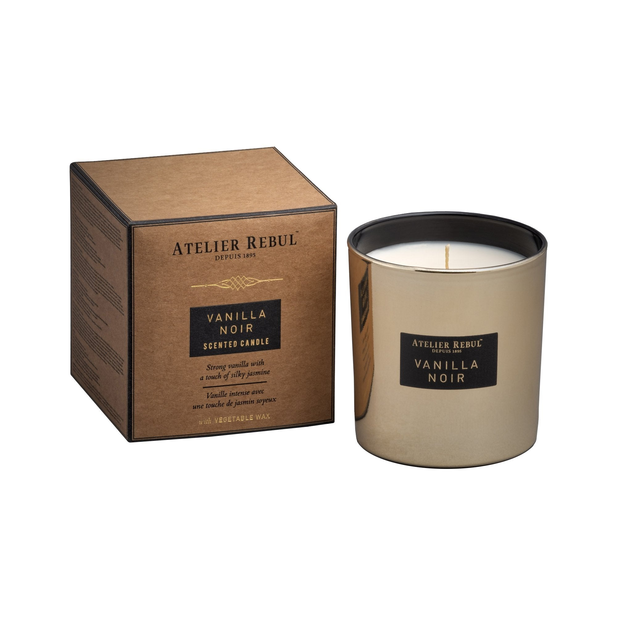 Vanilla Noir Scented Candle 210g - Atelier Rebul