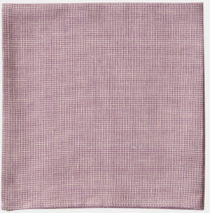 Lilac Houndstooth Linen Napkin/Dishtowel set of 4