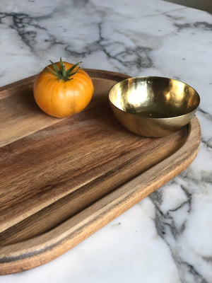 Tiny brass bowl