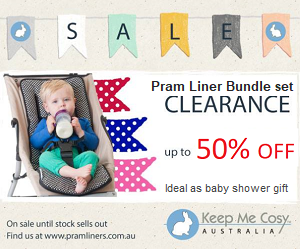 pram liners and baby gifts set sale