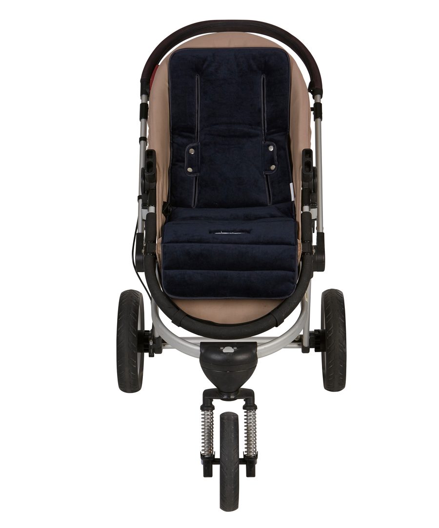 Pram Liner + Harness & Buckle Cosy - Ink Spot