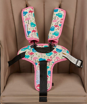 Harness & Buckle Cosy - Flamingo