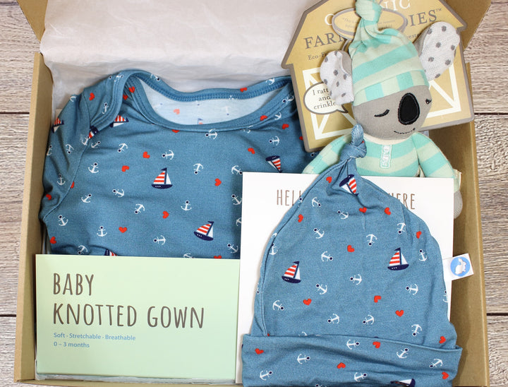 Baby Gift Box - Nautical