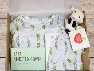 Baby Gift Box - Leaves