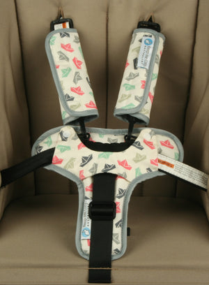 Harness & Buckle Cosy - Paper Boat