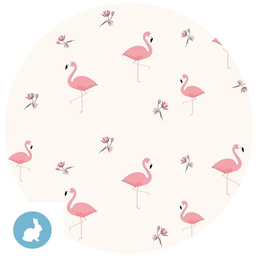 Baby Knotted Hat - Flamingo