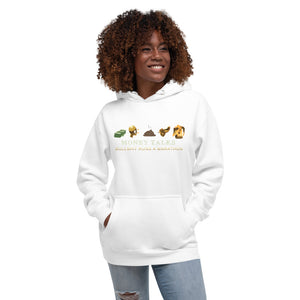 Money talks Unisex Hoodie - Pace-Of-One