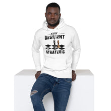Load image into Gallery viewer, Stay Resilient Unisex Hoodie - Pace-Of-One