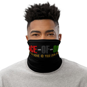 Pace-of-one-Neck Gaiter - Pace-Of-One