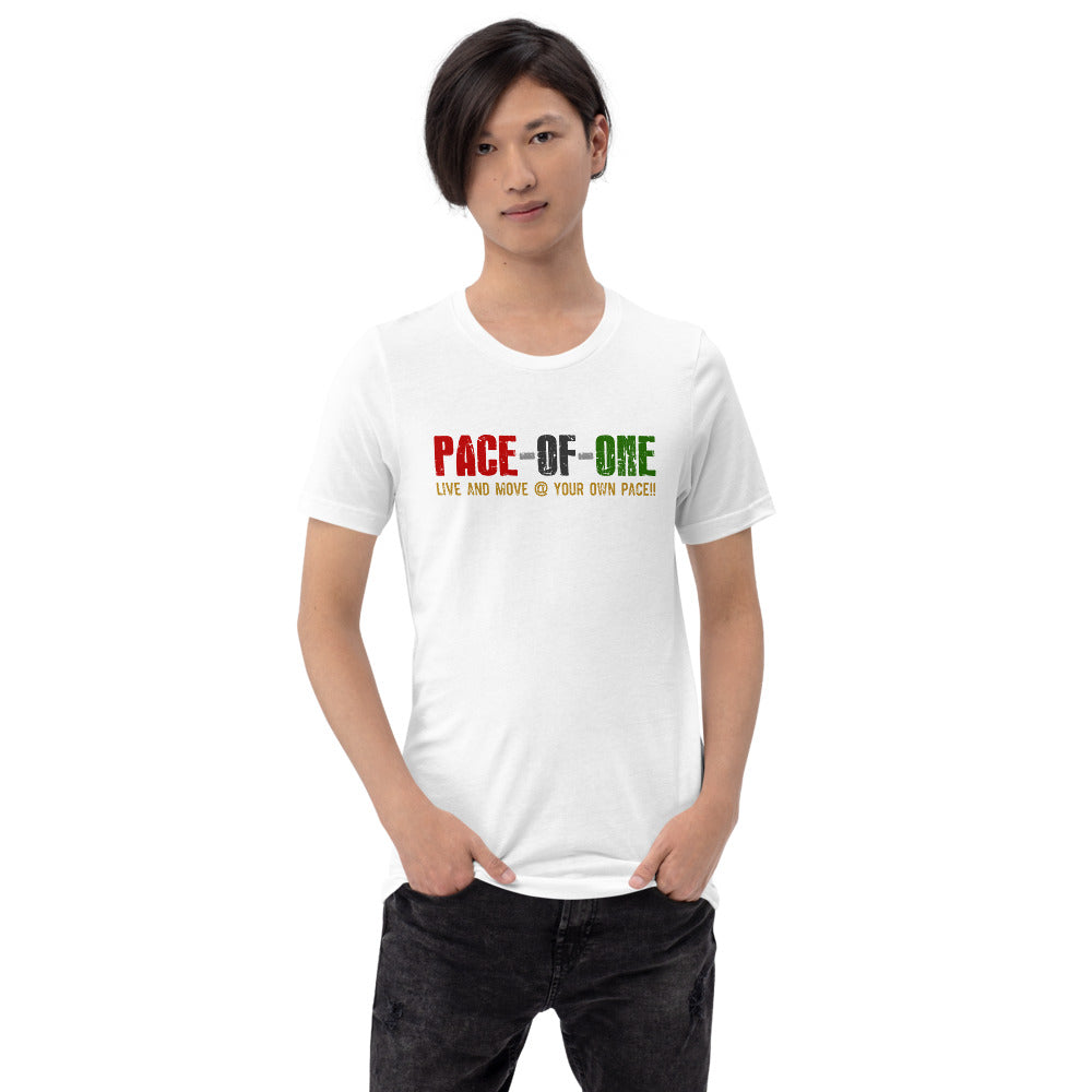 Pace-of-one Short-Sleeve Unisex T-Shirt - Pace-Of-One