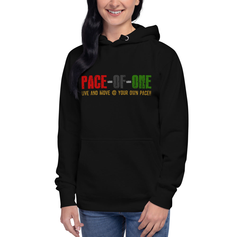 Pace-of-one Unisex Hoodie - Pace-Of-One