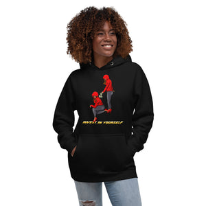 Invest in yourself(Female version) Unisex Hoodie - Pace-Of-One