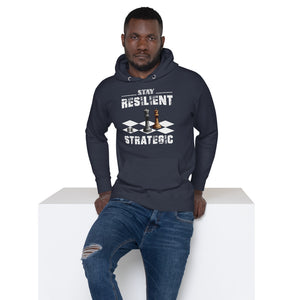 Stay Resilient Unisex Hoodie - Pace-Of-One